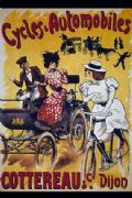 Vintage French cycling poster - Cottereau & Co Dijon